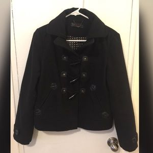 Zara black cozy jacket
